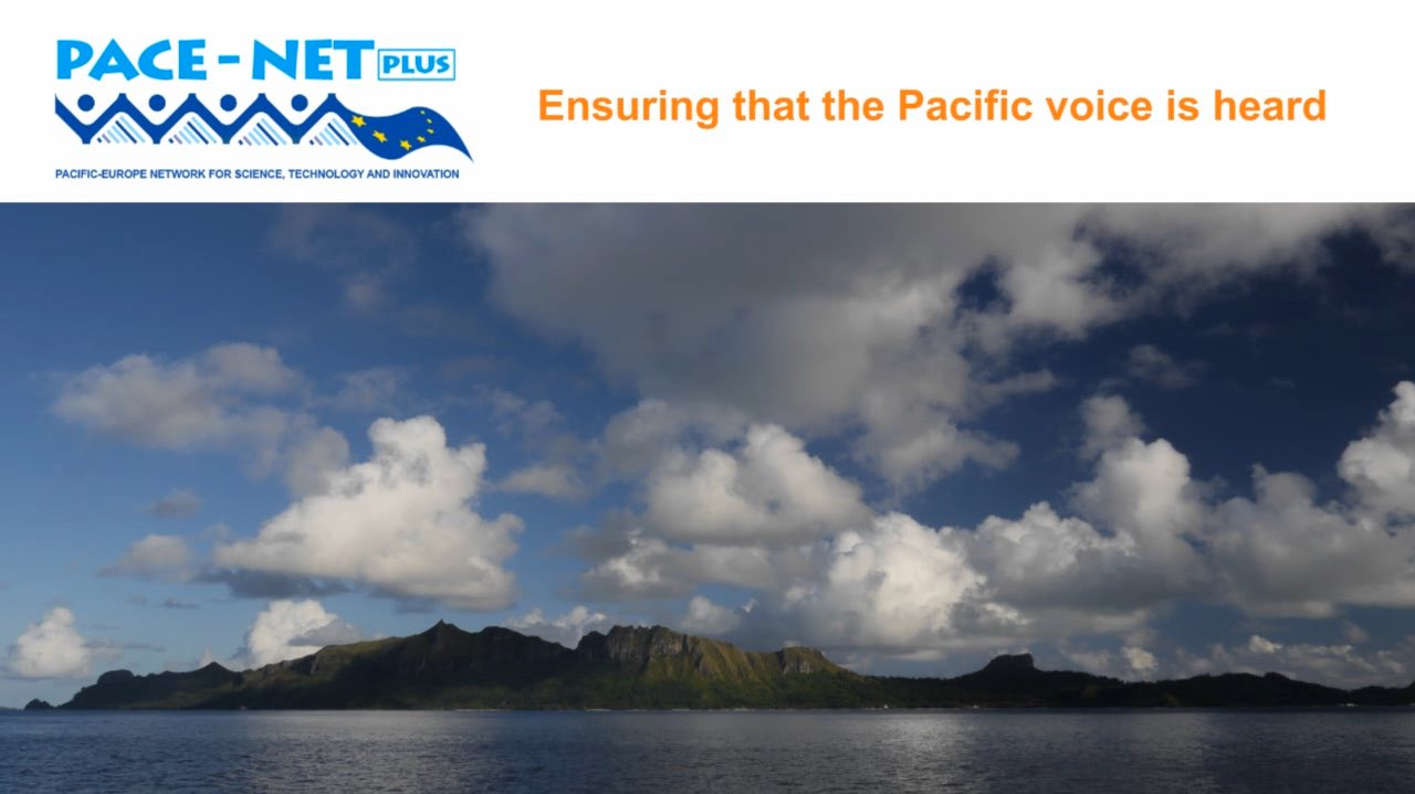 the Pacific voice